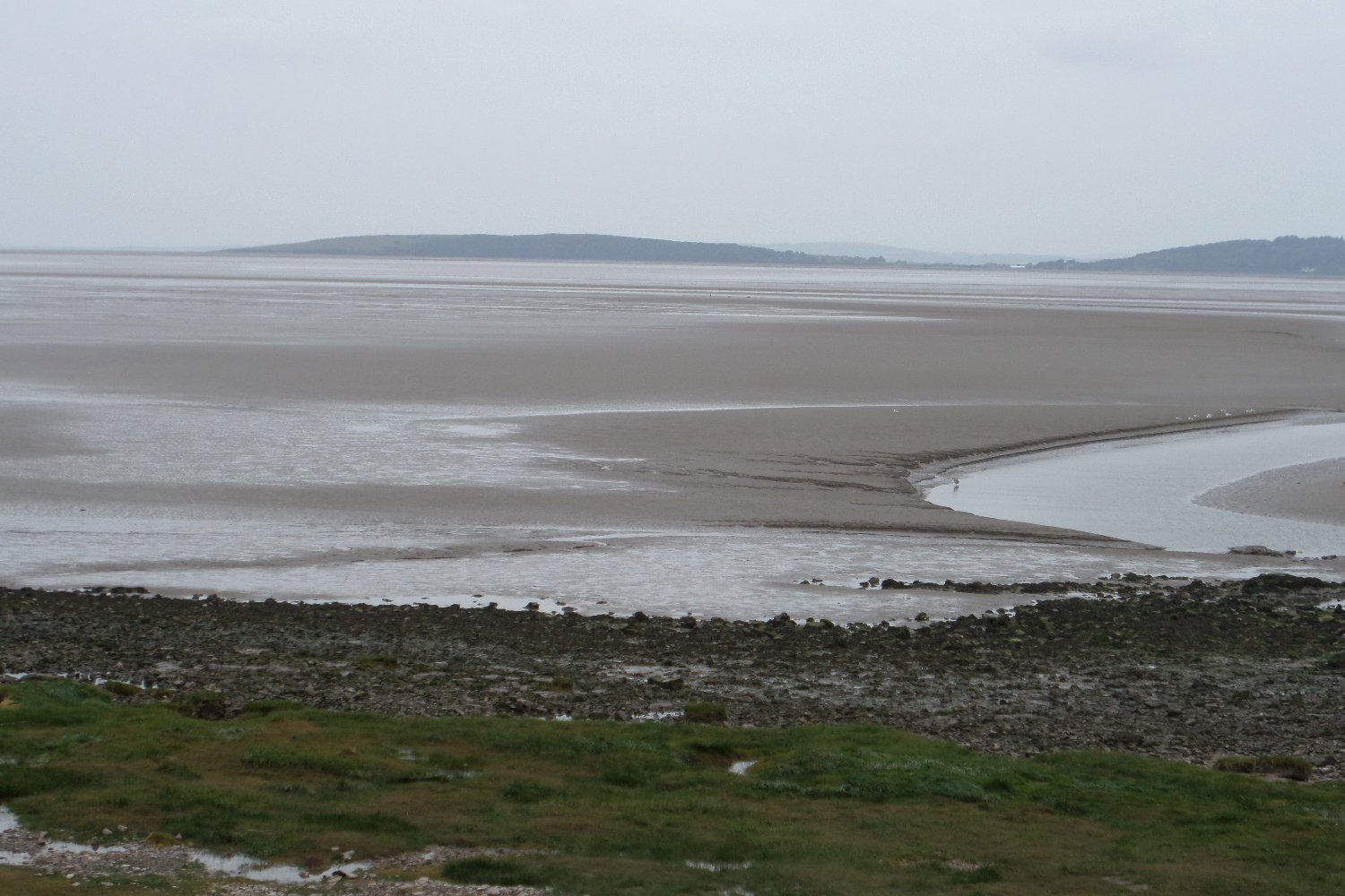 Morecambe sands